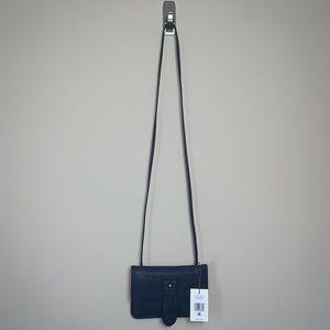 NWT Lucky Brand Navy Lilly Crossbody Bag